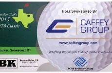 Caffey Group supports Panther's Club Golf Tournament